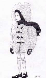 girlwearingcoat